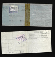 Fiscal  Fiscaux - Revenue Stamps