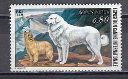 Monaco 1977 - Dogs, Mi-Nr. 1265, MNH** - Neufs