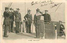 83* TOULON  Marine Guerre – Sur Le Bord    RL13.0412 - Toulon