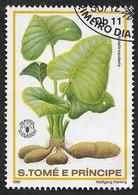 Sao Tome 1981  -  YT 654 - Colocasia - Oblitéré - São Tomé Und Príncipe
