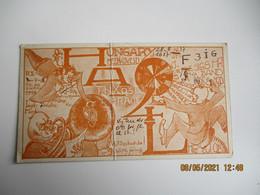 Carte Qsl  1937 Hongrie Hungary  Ha1l - Amateurfunk