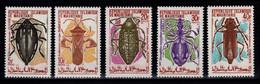 Mauritanie - YV 276 à 280 N** Complete Insectes - Mauritania (1960-...)
