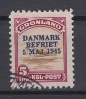 Greenland 1945 - Michel 18 Used - Gebraucht