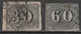 Brésil N° 13, 14 - Used Stamps