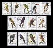Sao Tome 1983  -  YT 783 à 795 - Oiseaux - Oblitérés - São Tomé Und Príncipe