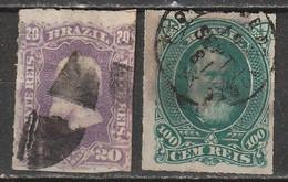 Brésil N° 38, 41 - Used Stamps