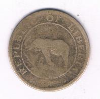 1 CENT 1937 LIBERIA /3911/ - Liberia