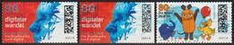 2021: Bund Mi.Nr. 3592 A + B, 3597 Gest. / Allemagne Y&T No. ? Obl. (d097) - Used Stamps