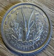 1 Franc Afrique Occidentale 1948 En L Etat Sur Photos - Other - Africa
