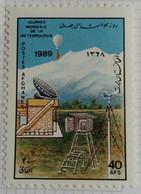 Afghanistan 1989 Station Météo Yvert 1460 * MH - Afghanistan