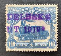 TR73 Gestempeld GRIFFE ...DELBEKE - 1915-1921