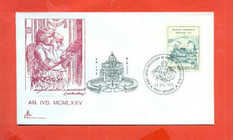 PAPI - MARCOFILIA- PAOLO VI°   - ANNO SANTO - Storia Postale