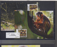 WWF Issue Michel Cat.No. Guinea Bissau Issued 2012 Monkey MC - Tarjetas – Máxima