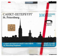 Russia - SPT - Silhouette Of St. Petersburg, Gem2 Black, Exp.31.03.1995, 100U, 42.500ex, NSB - Rusland