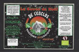 Etiquette De Bière De Noël    -  La Cuvée De Noêl  -  Brasserie De L'Enclos  à Avranches  (50) - Beer