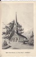 74  ANNECY EGLISE SAINT ETIENNE AU PONT NEUF - Annecy