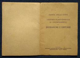 """02847   """"BRESSANONE E DINTORNI (BZ) - PIANTA E CARTINA PLASTIGRAFICA"""" ORIG. - Roadmaps"""