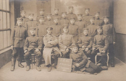 CARTE PHOTO ALLEMANDE - GUERRE 14-18 - CHEMNITZ - INFANTERIE REGIMENT 104 - Guerre 1914-18