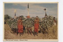 DUK DUK AND TUBUANS MATUPIT ISLAND - RECTO /VERSO-- B103 - Papua New Guinea