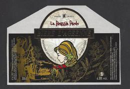 Etiquette De Bière   -  La Brassin Perdu  -  Brasserie JH Prestations à Ay  (51) - Beer