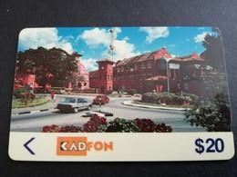 MALAYSIA Nice Used  KADFON   MAGNETIC  $20 ,-  SERIE 3MSTA        ** 5485*** - Maleisië