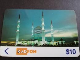 MALAYSIA Nice Used  KADFON   MAGNETIC  $10  ,-  SERIE 1MSTB        ** 5486*** - Maleisië