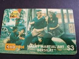 MALAYSIA Nice Used  KADFON   MAGNETIC  $3  ,-  SERIE 2MSTA        ** 5488*** - Maleisië