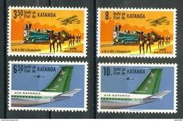 COB  75 à 78  **  (K61) - Katanga