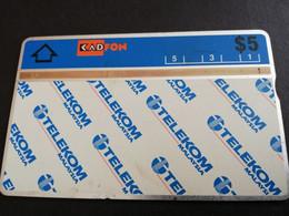 MALAYSIA Nice Used  KADFON   L&G CARDS   $ 5 ,-  SERIE 303A       ** 5489*** - Maleisië