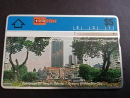 MALAYSIA Nice Used  KADFON   L&G CARDS   $ 5 ,-  SERIE 304E       ** 5490*** - Maleisië