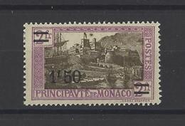 MONACO.  YT  N° 110  Neuf *  1926 - Unused Stamps