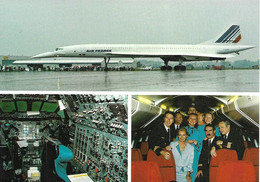 Concorde  Air France - à Nuremberg - Photo De L'Equipage à Bord - Edit Rudi Nickel - Non Classificati