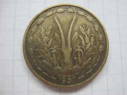 Togo 25 Francs 1957 - Togo