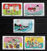 France 2020  Oblitéré Autoadhésif  N° 1873 - 1875 - 1878  - 1883 - 1884 -  Espace Soleil Liberté  - - Adhesive Stamps