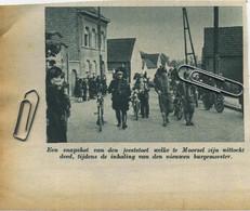 """Origineel Knipsel  Uit Tijdschrift """" De Stad """" 1939 :  AALST-  MOORSEL - Unclassified"""