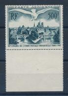 FRANCE - POSTE AERIENNE N°20 NEUF* AVEC CHARNIERE AVEC BORD DE FEUILLE - 1947 - 1927-1959 Mint/hinged