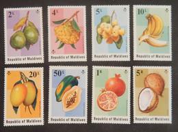 """MALDIVES YT 525/532 NEUFS**MNH """"FRUITS"""" ANNEE 1975 - Maldives (1965-...)"""