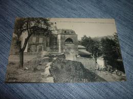 Carte Postale Aveyron St Georges De Luzençon Chateau De Vergognac Et La Ferme - Autres Communes