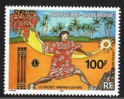 Nouvelle Calédonie - N°865 ** (2002) Le Cricket - Nuevos