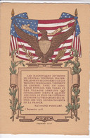 COQUEMER Graveur - Les Magnifiques Divisions Du Général PERSHING 5 Septembre 1918 - Patriottiche