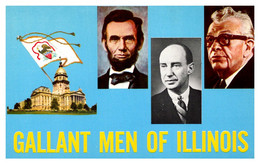 Illinois  Gallant Men , Lincoln, Dirksen, Stevenson - Other