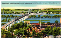 Illinois  Moline Iowa Illinois Memorial Bridge - Other