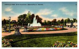 Indiana Indianapolis   Garfield Park Fountain - Indianapolis