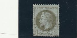 ///    FRANCE  ///     Napoléon III - Lauré N° 25 Côte 25€ Bronze Ou Olive Obliteration - 1863-1870 Napoleon III With Laurels
