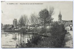 15. OUDON (L-Inf) _ Vue Prise De La Route De Champtoceaux - Oudon