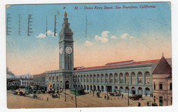 CPA San Francisco California United States Union Ferry Depot  Editor Edward Mitchell - San Francisco