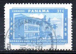 PANAMA. N°332 Oblitéré De 1959. Institut National. - Panama