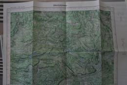 DRAGUIGNAN N°XXXII- 45, Carte IGN 1/50 000°éditée 1967 (+ Le Luc, Carcès, Lorgues, Taradeau, Flayosc, Entrecasteaux Et.) - Topographical Maps