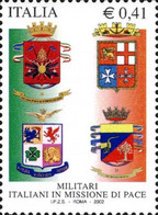 # ITALIA ITALY - 2002 - Stemmi Militari Coats Of Arms - Stamp MNH - 2001-10: Mint/hinged