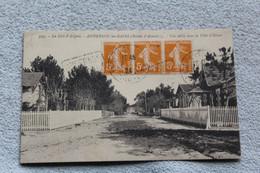 Cpa 1924, Andernos Les Bains, Une Allée Dans La Ville D'hiver, Gironde 33 - Andernos-les-Bains